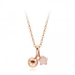 [Opal birthstone of October] 14k / 18k wising oil Birthstone Necklace