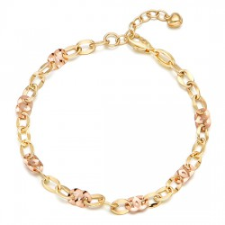 14k / 18k bracelet rococo