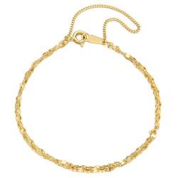 14k / 18k bracelet aerang two lines