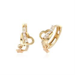 14k / 18k earring by love