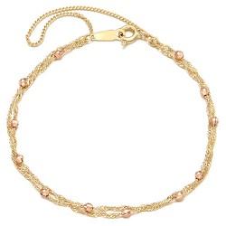 14k / 18k bracelet Rondell