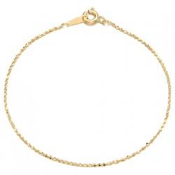 14k / 18k bracelet shine line