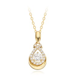 14k / 18k Rose Leah Necklace