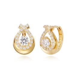 14k / 18k Rose Leah earring