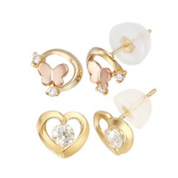 [HOT] 14k earrings collection 56 kinds of fancy