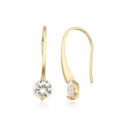 14k / 18k earring wink