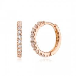 14k / 18k earring ring Ett