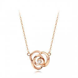 14k / 18k Rose cent piece necklace