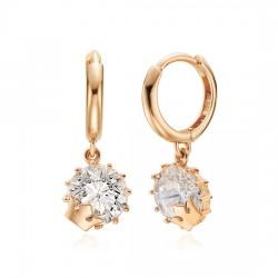 14k / 18k earring Petite Queen
