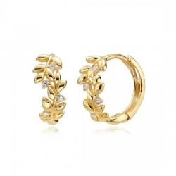 14k / 18k earring Laurel