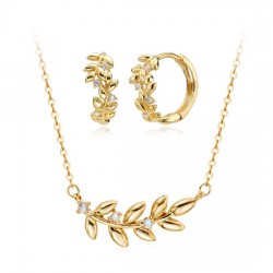 14k / 18k laurel Set