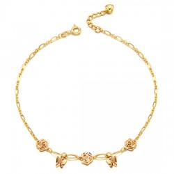 14k / 18k Rose butter anklets