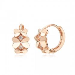 14k / 18k earring Love rinneu