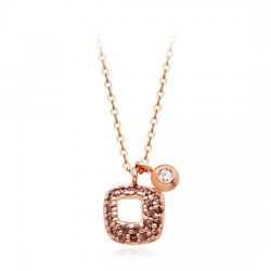 14k / 18k necklace integrated Carolina