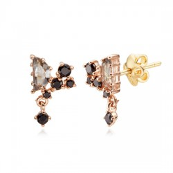 14k / 18k earring Luna Ray