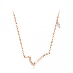 14k / 18k necklace Lisse En-one