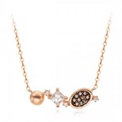 14k / 18k necklace antique piece cue
