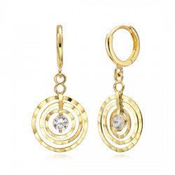 14k / 18k earring Maze
