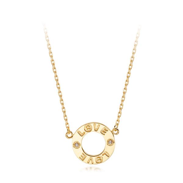14k / 18k original piece Love Necklace