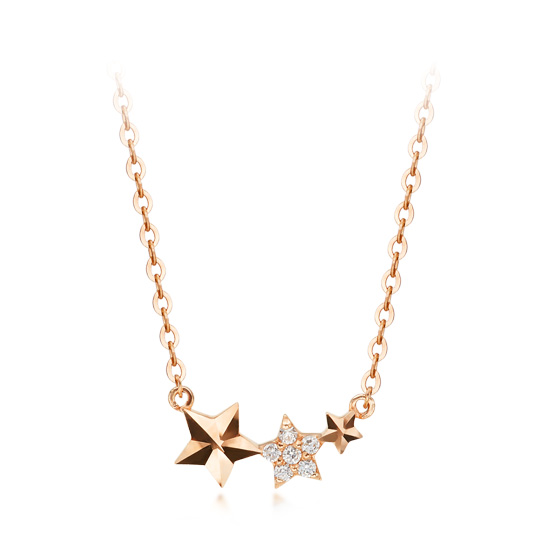 14k / 18k necklace piece Star Song