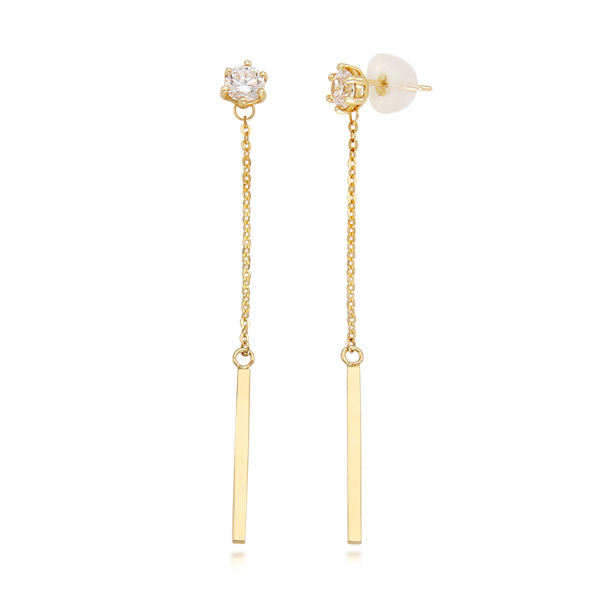 [30% off] 14k Muse stick earring
