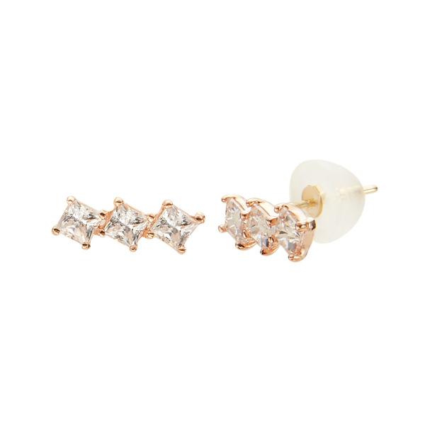 Leah queue 14k earring