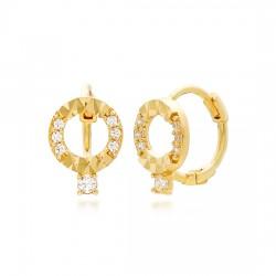 14k / 18k earring queue niwon