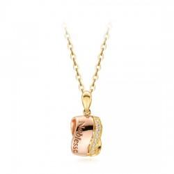 14k / 18k Noble Sone Necklace