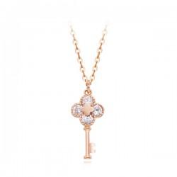 14k / 18k necklace integral La Beaute