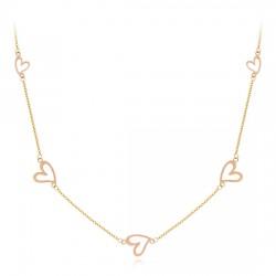 14k / 18k piece necklace love wit
