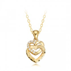 14k / 18k Heart Necklace Phoenix