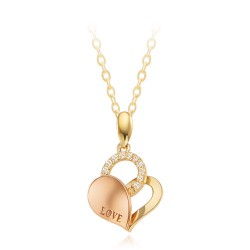 14k / 18k Eli Heart Necklace
