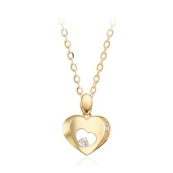 14k / 18k Cream Love Necklace