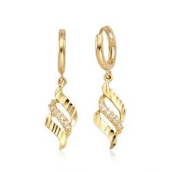 [20 ~ 30large gift recommendations] 14k / 18k earring Vanessa