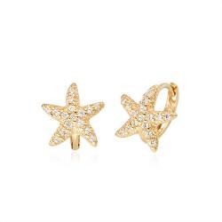 14k / 18k earring Sea star