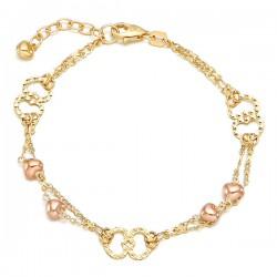 Heart bracelet 14k Bisha