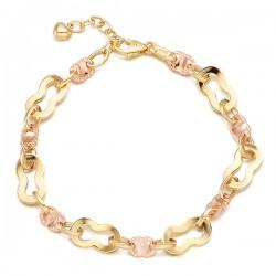 Rosen pitch bracelet 14k