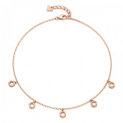 14k / 18k bubble stin anklet