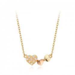 14k / 18k Shine Love all-in-one necklace