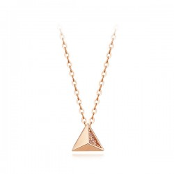 14k / 18k Tree Angle Necklace