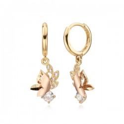 14k / 18k Flavine earring