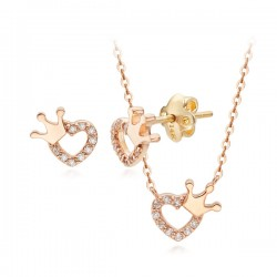 14k / 18k sony heart set
