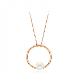 14k / 18k Moonlight Pearl Integral Necklace