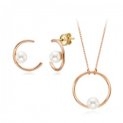 14k / 18k Moonlight pearl set