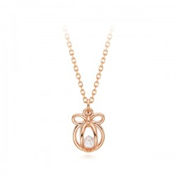 14k / 18k Lovely gift all-in-one necklace