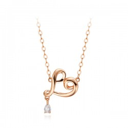 14k / 18k Rubbing Oil Integrated Necklace