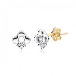 14k / 18k purine earring