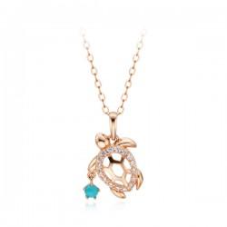 14k / 18k Lucky Turtle Necklace