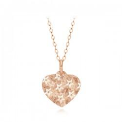 14k / 18k Magic Heart Star Necklace