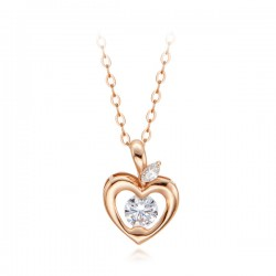14k / 18k Love Apple Necklace